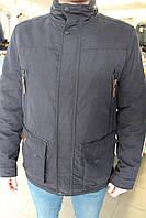 Куртка мужская демисезонная Black VINYL TC16-1025/Синий