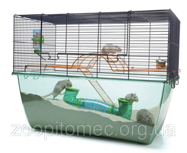 СУПЕР КЛЕТКА  для грызунов ХЕБИТАТ XL (Habitat XL) 70*37*56 см