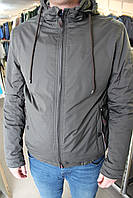 Куртка мужская демисезонная Black VINYL TC16-1081/Хаки