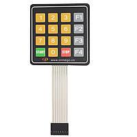 16-ти кнопочная клавиатура №2 для Arduino (Старт-Стоп F1-F4)