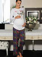 Хлопковая пижама с удлиненной туникой