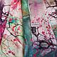 Элегантный женский шелковый шарф 172*51 ETERNO (ЭТЕРНО) ES2711-5, фото 3