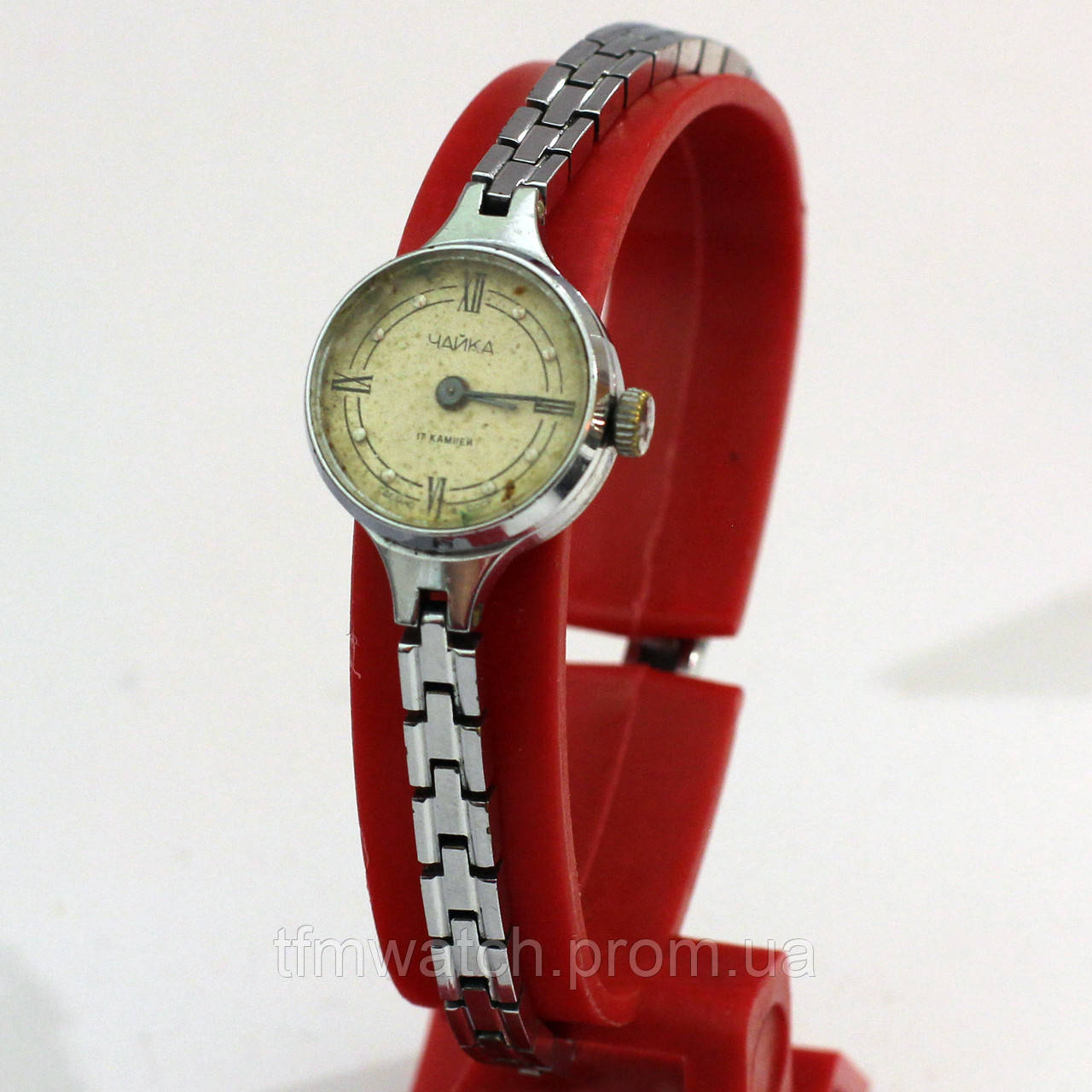 Чайка женские часы на браслете