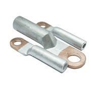 Кабельный наконечник (клемма) DTL 50 (20шт/упаковка) медно-алюминиевая без лужения