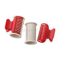 Термобигуди с крабом, диаметр: 40 мм, 6 штук в упаковке