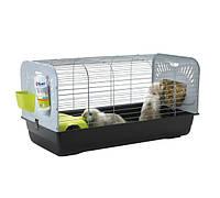 ЦЕЗАРЬ 3 ДЕ ЛЮКС (Ceasar 3 De luxe) клетка для кроликов100*50*51 см