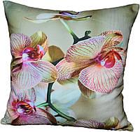 Декоративная подушка Орхидея