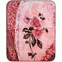 Велюровый плед Lotus Flower 200x240 в подарочном чемодане