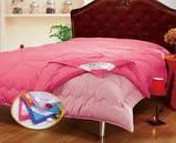 Одеяло микрофайбер Le Vele 4 сезона зима лето на кнопках евро размер 200*220, фото 5