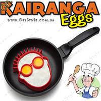 """Форма для яичницы  - """"Kairanga Eggs"""" - 14 х 12.5 см, фото 1"""
