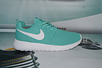 Кроссовки Nike Roshe Run бирюзовые (Найк Роше Ран)