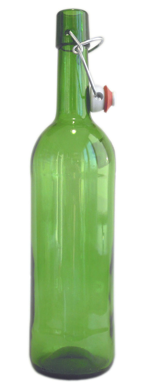 "Бутылка для вина ""Bordo classic LM"" 0,75л. бугельным замком."