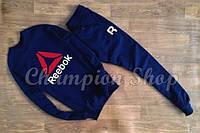 Спортивный костюм Reebok, темно-синий