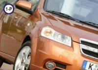 Реснички на фары Chevrolet Aveo 2005- тип1