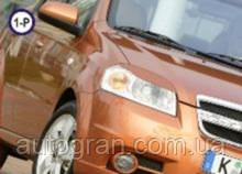 Вії на фари Chevrolet Aveo 2005 - тип1