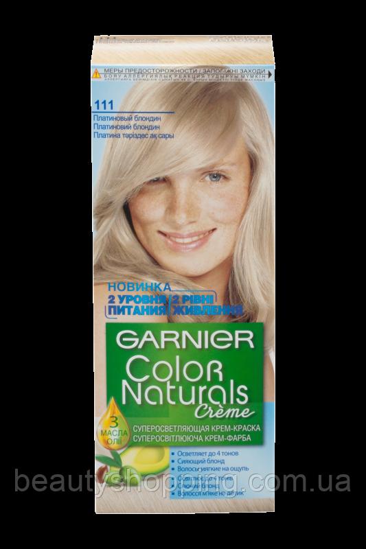 Краска для волос Garnier Color Naturals 111 Платиновый блондин