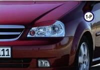 Реснички на фары Chevrolet Lacetti тип1