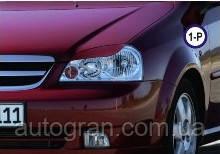 Вії на фари Chevrolet Lacetti тип1