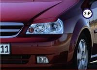 Реснички на фары Chevrolet Lacetti тип2