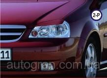 Вії на фари Chevrolet Lacetti тип2