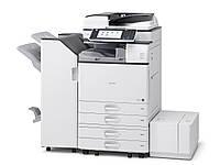 Качественный МФУ Ricoh Aficio MP 3554ZSP. Монохромная печать. Принтер/сканер/копир. Формат А3.