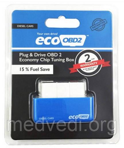 Экономия дизеля чип тюнинг EcoObd2 15-25%