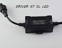 Комплект LED ламп в основные фонари серии G7 под цоколь H16 (PS24W) 24W 4000 Люмен/Комплект, фото 2