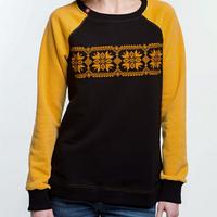 Ультрамодный свитшот с вышивкой для женщин, фото 1