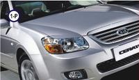 Реснички на фары Kia Cerato 2006-2010 тип1