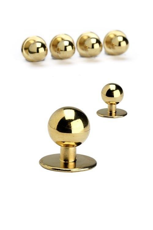 Пуговицы поварские (пукли) комплект из 10 шт (золото)