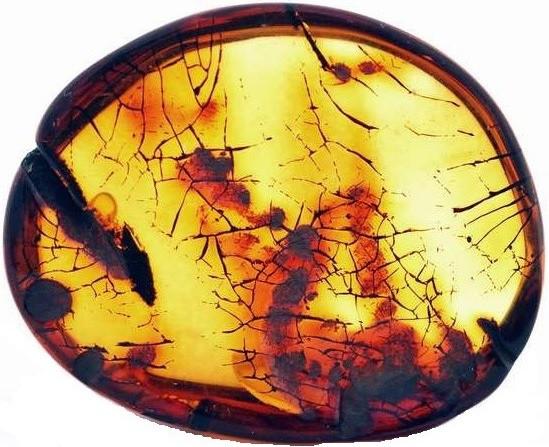 Натуральный колумбийский янтарь