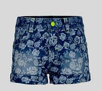 Джинсовые шорты для девочек Glo-story 122-128