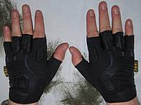 Перчатки Mechanix M-Pact Fingerless Black