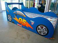 """Кровать машина """" Драйв 95 """" синяя"""