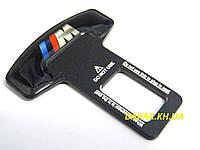 Заглушка ремня безопасности M чёрная BMW