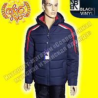 Удобная мужская куртка Black Vinyl 661