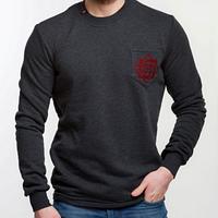 Модный свитшот для мужчин с вышивкой