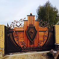 Кованые ворота №2