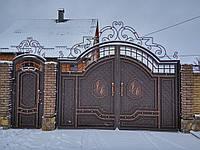 Кованые ворота №9