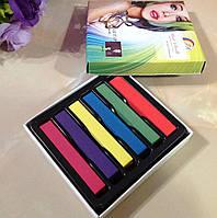 Мелки для окрашивания волос 6 шт