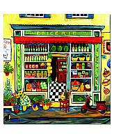 Пазл Educa - Сюзанна Этьен, Продуктовый магазин (Suzanne Etienne, Grocery shop)