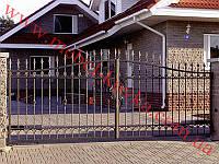 Ворота кованые 18
