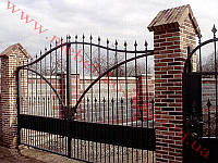 Ворота кованые 20