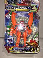Трансформер робот оранж