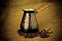 Медная джезва для кофе Нимфы 500 мл