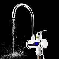 Проточный нагреватель воды в виде крана Rapid ( мини бойлер ) Water Heater электрический кран 220V
