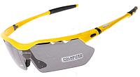 Спортивные поляризационные очки «RockBros Polarized» с 5-ти сменными линзами и защитой UV400 Жёлтый