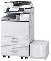 Черно-белый офисный МФУ Ricoh Aficio MP 4054AZSP формата А3. Реверсивный автоподатчик оригиналов. Принтер/скан