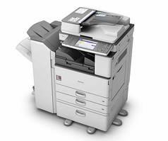 Офисный МФУ Ricoh Aficio MP 5054SP. Монохромная печать формата А3. Реверсивный автоподатчик оригиналов. Принте