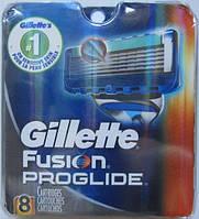 Лезвия Gillette Fusion Proglide Manual 8 Cartridges , фото 1